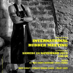 INTERNATIONAL RUBBER MEETING | SAMEDI 24 NOVEMBRE 2012