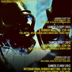 INTERNATIONAL RUBBER MEETING | SAMEDI 23 NOVEMBRE 2013