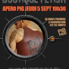 Apéro pig jeudi 5 septembre 2013