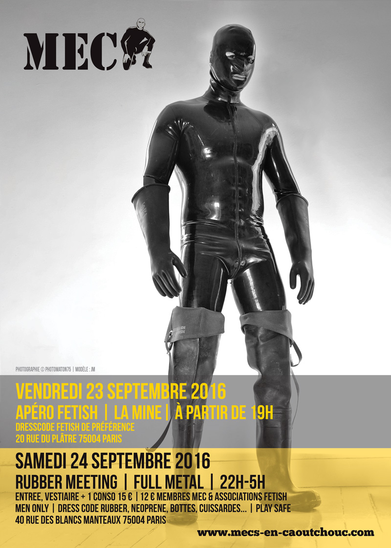 Rubber Meeting Septembre 2016
