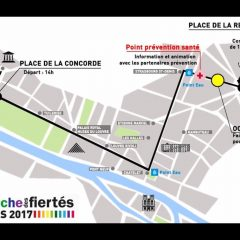 Weekend de la marche des fiertés 2017
