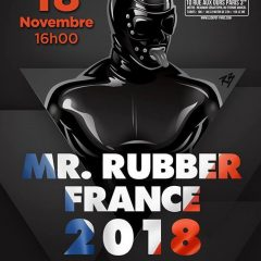 Election Mister Rubber France 2018