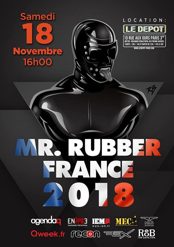 Election Mister Rubber France 2018