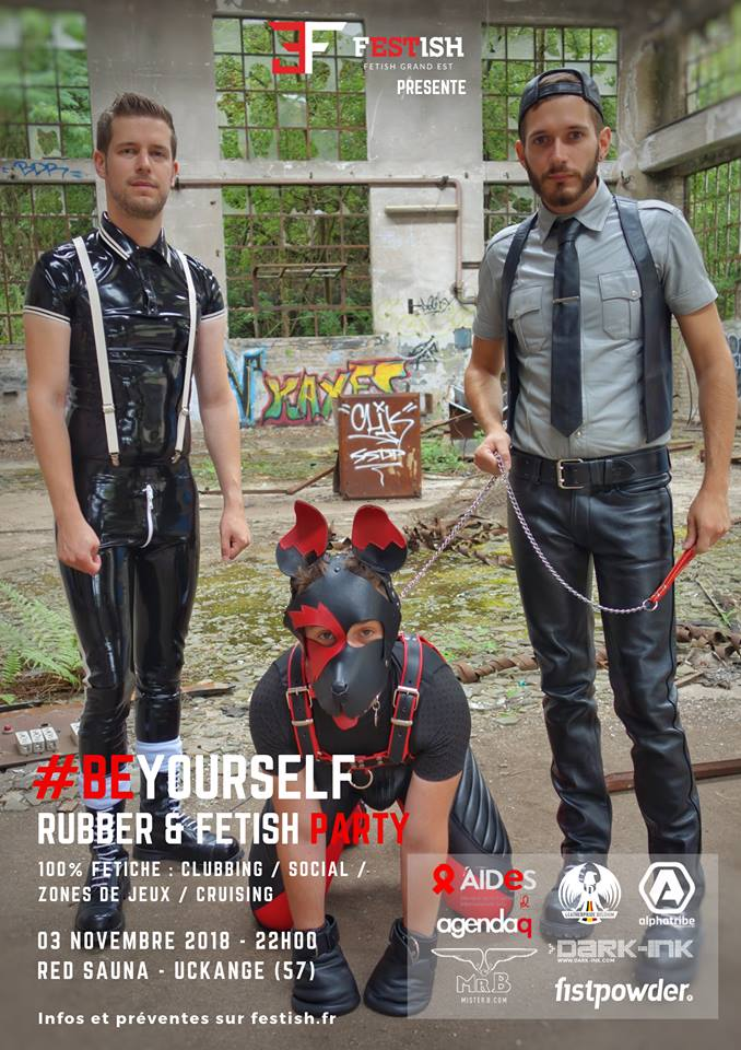 Uckange - BeYourself Rubber & Fetish Party