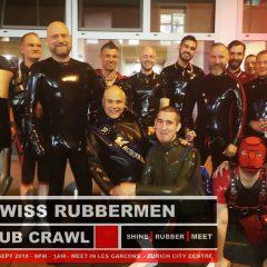 Swiss Rubbermen – Rubber Pub Crawl