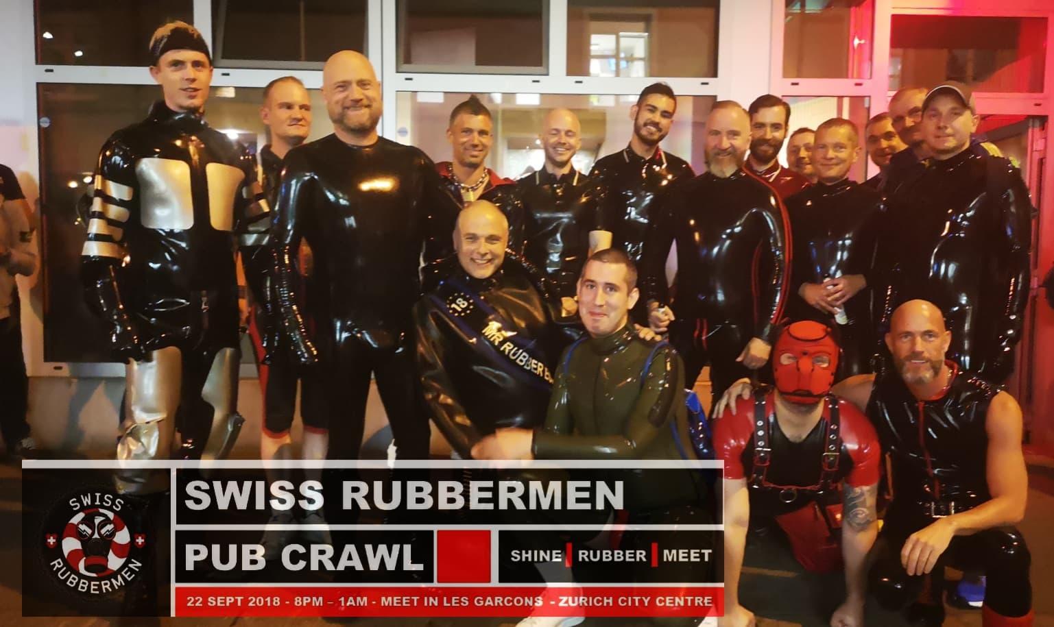 Swiss Rubbermen - Rubber Pub Crawl