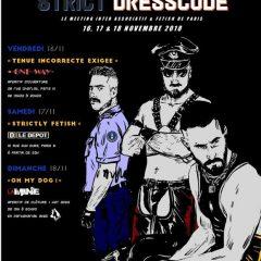 Strict Dresscode, et les événements MEC à venir pour cette fin d'année 2018