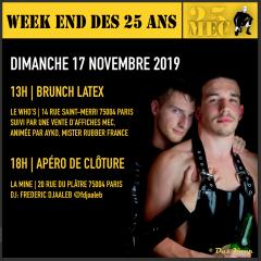 Apéro de Cloture / Closing Drinks – Weekend des 25 ans