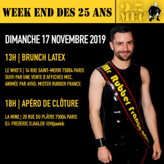 Brunch Latex – Weekend des 25 ans