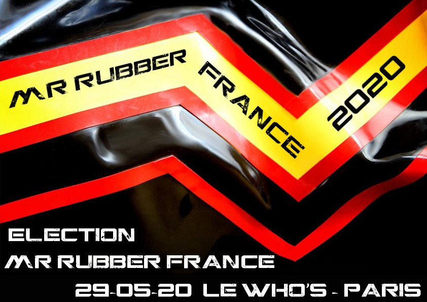 Election Mr Rubber France 2020
