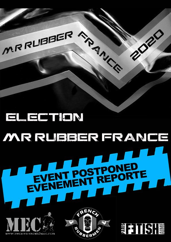 Annulé - Election Mr Rubber France 2020